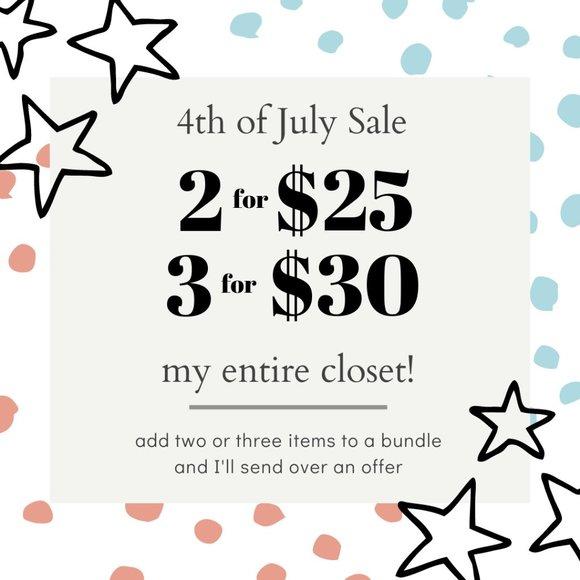 SALE Dresses & Skirts - 2/$25 or 3/$30 SALE!